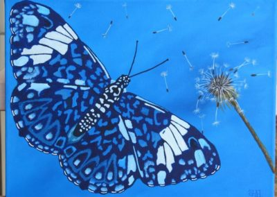 Starry Night Butterfly // SOLD