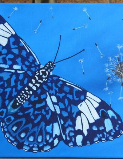 Starry Night Butterfly *SOLD*